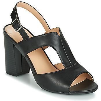 Chaussures Femme Sandales et Nu-pieds Moony Mood JALILIA Noir