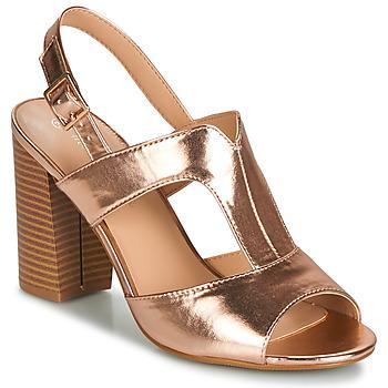 Chaussures Femme Sandales et Nu-pieds Moony Mood JALILIA Bronze