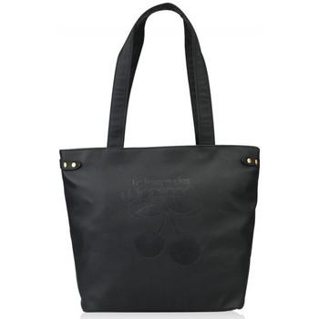 Sacs Femme Cabas / Sacs shopping Le Temps des Cerises Sac  BESSY 1 Noir