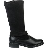 Chaussures Fille Bottes Asso Bottes fille -  - Noir - 30 NOIR