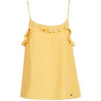 Vêtements Femme Débardeurs / T-shirts sans manche LPB Woman AZITAFE Jaune