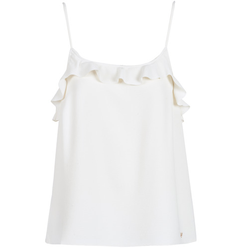Vêtements Femme Débardeurs / T-shirts sans manche Les Petites Bombes AZITAFE Blanc