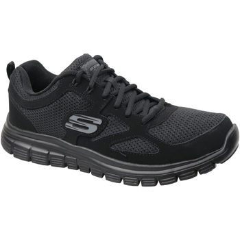 Chaussures Homme Baskets basses Skechers Burns 52635-BBK
