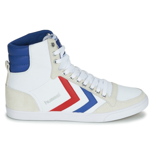 High Hummel Montantes Baskets Rouge BlancBleu Ten Star Canvas qGSpzMUV