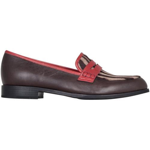 Chaussures Femme Mocassins Kesslord CHARLES CHARLES_ZEB_N Noir