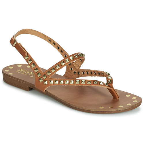 Chaussures Femme pieds Replay Sandales Cult Marron Et Nu IeDY2WHE9
