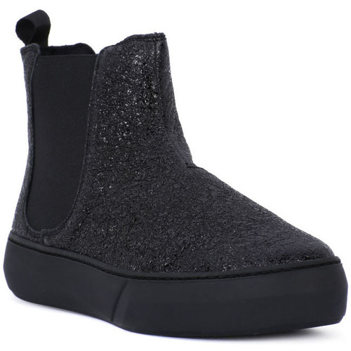 Chaussures Femme Bottes Frau FERRER NERO Nero