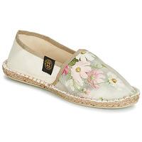 Chaussures Femme Espadrilles Art of Soule BOHEME Beige / Fleur