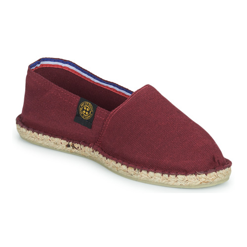 Of Soule Chaussures Uni Bordeau Espadrilles Art mwv8nN0