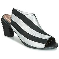 Chaussures Femme Sandales et Nu-pieds Papucei BETINA Noir / Blanc
