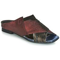Chaussures Femme Mules Papucei KEPLER Noir / Bordeaux