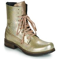 Chaussures Femme Boots Papucei JANET Vert / Beige