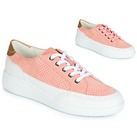 Chaussures Femme Baskets basses Geox D TAHINA Rose / Blanc