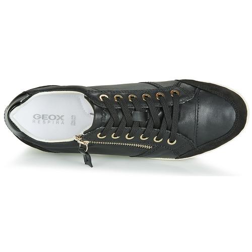Chaussures Basses Geox Noir Femme Myria D Baskets n80kwOP