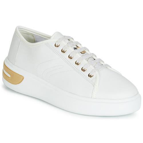 e9d34c2c4c9b38 Geox D OTTAYA Blanc - Livraison Gratuite | Spartoo ! - Chaussures ...