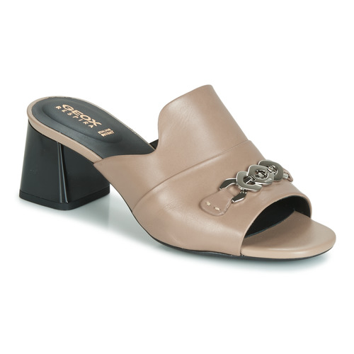 Chaussures Femme Mules Geox D SEYLA SANDAL MID Beige
