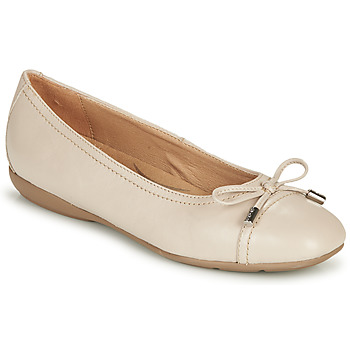 Chaussures Femme Ballerines / babies Geox D ANNYTAH Taupe