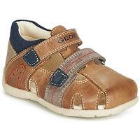 Chaussures Garçon Sandales et Nu-pieds Geox B KAYTAN Marron