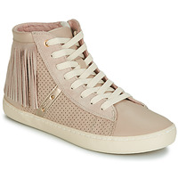 Chaussures Fille Baskets montantes Geox J KILWI GIRL Beige