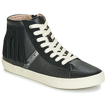 Chaussures Fille Baskets montantes Geox J KILWI GIRL Noir