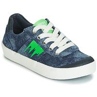 Chaussures Garçon Baskets basses Geox J KILWI BOY Bleu / Vert