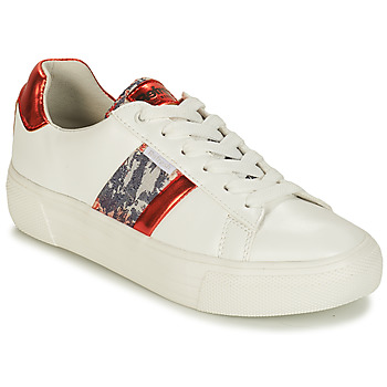 Chaussures Femme Baskets basses Refresh 69954 Blanc / Rouge