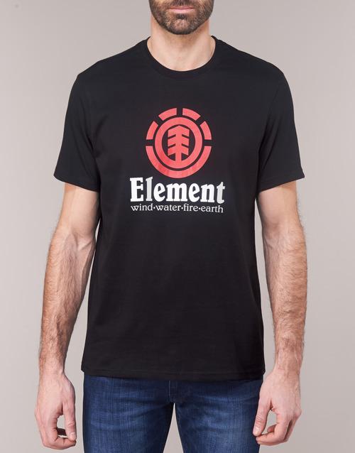 Vertical Ss Courtes T Homme Element Noir shirts Manches POZTXwiuk