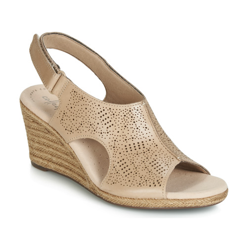 Chaussures Femme Sandales et Nu-pieds Clarks LAFLEY ROSEN NUDE