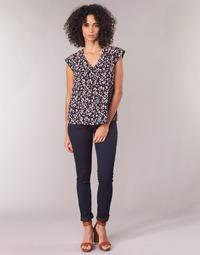 Vêtements Femme Jeans slim Freeman T.Porter Alexa Slim S-SDM Marine foncé