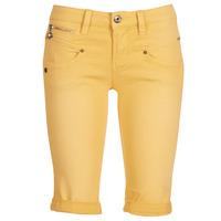 Vêtements Femme Shorts / Bermudas Freeman T.Porter Belixa New Magic Color Jaune