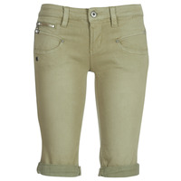 Vêtements Femme Shorts / Bermudas Freeman T.Porter Belixa New Magic Color Kaki