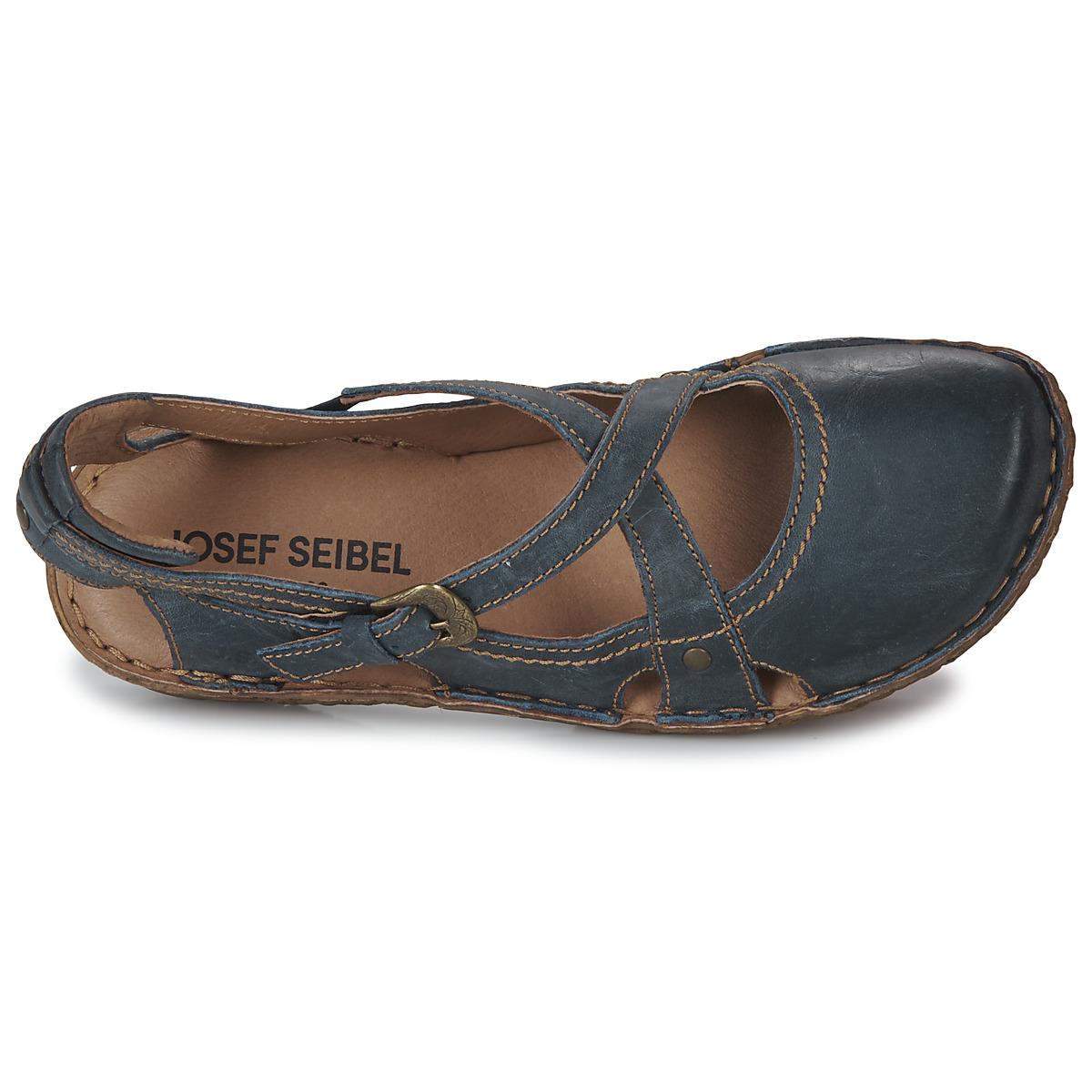 Josef Seibel Rosalie 13 Bleu - Livraison Gratuite Chaussures Sandale Femme 79,95 €