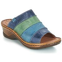 Chaussures Femme Mules Josef Seibel CATALONIA 64 Bleu