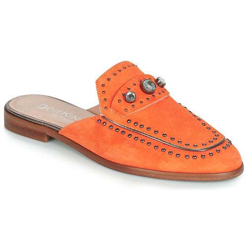 Chaussures Femme Mules Dorking 7783 Orange