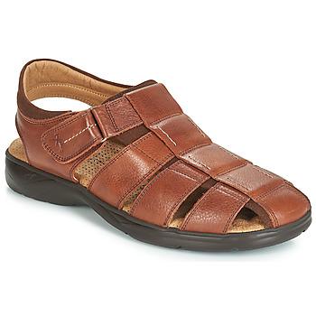 Chaussures Homme Sandales et Nu-pieds Fluchos DOZER Marron