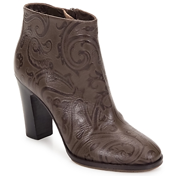 Chaussures Femme Bottines Etro MARLENE PAISLEY-MARRONE