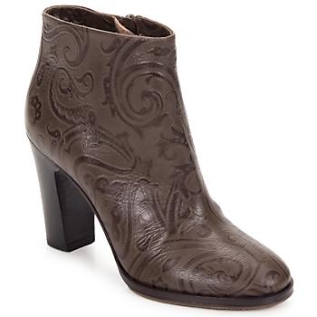 Chaussures Femme Bottines Etro MARLENE PAISLEY-MARRONE