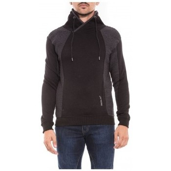 Vêtements Homme Sweats Ritchie Sweat col châle WATERS Noir