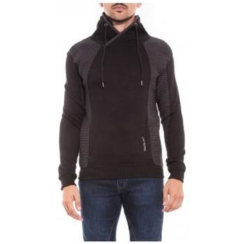 Vêtements Homme Sweats Ritchie Sweat col châle WATERS Noir