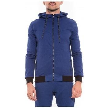 Vêtements Homme Sweats Ritchie Sweat zippé capuche WEWAK Bleu royal