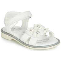 Chaussures Fille Sandales et Nu-pieds Chicco CETRA Blanc / Perles