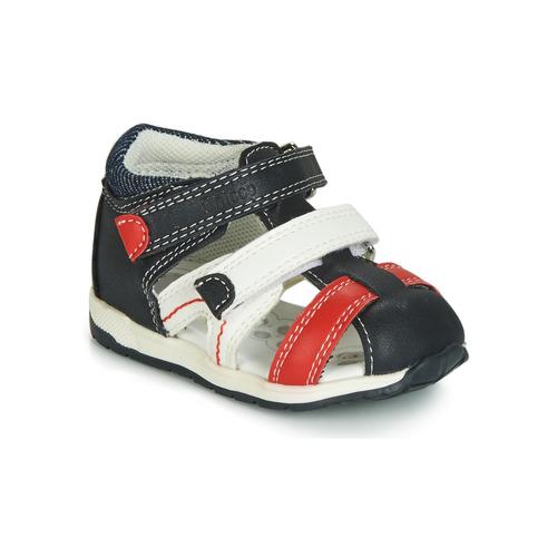 004c4ecabce53 Chaussures Garçon Sandales et Nu-pieds Chicco GABRIEL Bleu   Blanc   Rouge