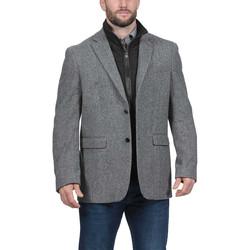 Vêtements Homme Manteaux Ruckfield Manteau en laine Gris