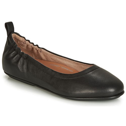 Chaussures Femme Ballerines / babies FitFlop Allegro Noir