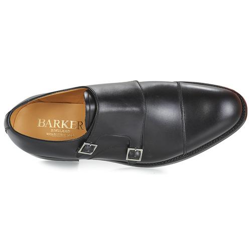 Homme Richelieu Barker Tunstall Chaussures Noir htrdsQ