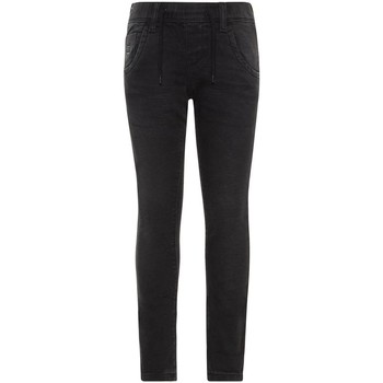 Vêtements Fille Jeans slim Name It Kids NKMROBIN DNMTOM 7080 SWE PANT Noir