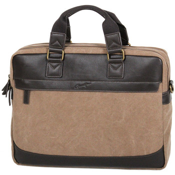 Sacs Homme Sacs ordinateur Gerard Henon Porte-ordinateur 15 Collection Safari 22381 Marron clair