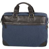 Sacs Homme Sacs ordinateur Gerard Henon Porte-ordinateur 17 Collection Safari 22384 Bleu