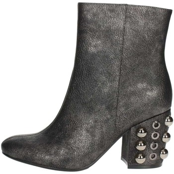 Chaussures Femme Bottines Luciano Barachini BB242V Gris anthracite