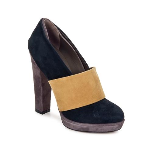 Chaussures Femme Escarpins Kallisté BOTTINE 5854 grey-mustard